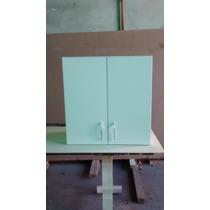 Alacena Blanca 2 Puertas 60x60 - Organizador - Fábrica