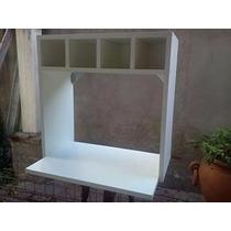 Mueble Melamina Para Micro Ondas C/bodeguita.18 Mm