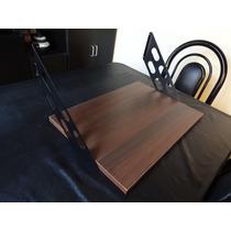 Estante Portamicroonda Color Malaga Cherry Touch. 50x35cm.