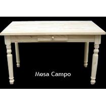 Mesa Campo - 1.60 X 0.80 - Muy Práctica Y Adaptable