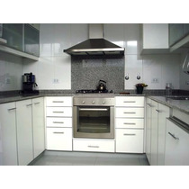Mueble de cocina por metro lineal de algarrobo completo for Muebles de cocina x metro lineal