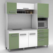 Mueble Integral Cocina Mesada Granito 12 Cuotas S/int