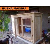 Isla Mesa Para Cocina, Rustica // Buena Madera