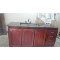 Mueble De Cocina Con Mesada De Granito Y Griferia!