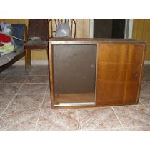 Mueble En Madera Maciza Dos Puertas -alacena/ Varios Usos-