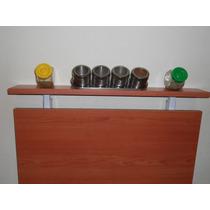 Mesa Rebatible Plegable Cocina Desayunador Mueble Funcional