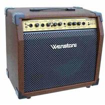 Amplificador Wenstone Para Guitarra Acustica Voz Age 25