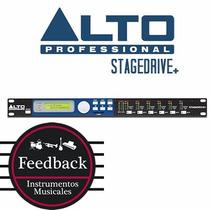 Alto Stagedrive+ - Procesador De Altavoces, Crossover 3 Vias