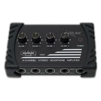 Amplificador De Auriculares Cad-ha-4 Amplificador De 4 Auric