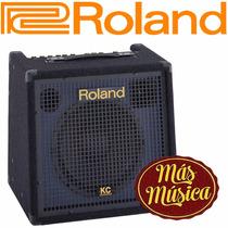 Amplificador C/ Mezcladora Stereo P/ Teclado Roland Kc-350