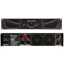 Crown Xli 2500 Amplificador De Potencia Audiomasmusica