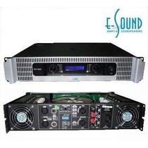 Amplificador De Potencia E-sound Vtx-1500 700w X2 4ohm Nvo
