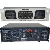 Potencia Concert 4800 American Pro 4800 W Dj Garmath