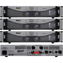 Skp Max 420 Amplificador De Potencia 200w+200w Rms 4 Ohms