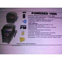 Bafle Potenciado A Bateria Recargable (karaoke )