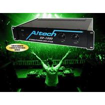 Amplificador De Potencia Estereo 600watts Altech Xp 1000 .