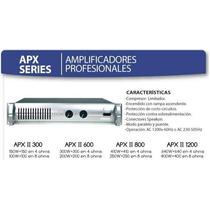 Amplificador De Potencia American Pro Apxii-300