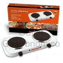 Anafe Electrico 2 Hornallas 2000 W. Bajo Consumo. Oferta!!!