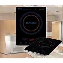 Anafe Electrico Touch De Cristal 220v 1900w