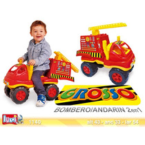 Grosso Camion Bombero Andarin 2 En 1 Original Luni