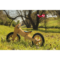 Bicicleta De Aprendizaje De Madera Sin Pedales. Camicleta