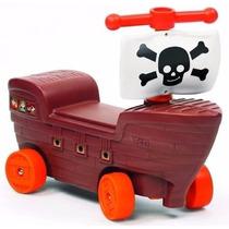 Barco Pirata Vegui Andador De Arrastre Con Direccion Sipi