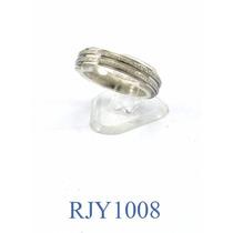 Alianza Ancha Diamantada Acero Quirúrgico Rjy1008