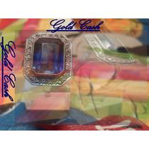 Urgente Anillo De Oro 18k. Con Zafiro Y Diamantes $15900