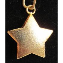 Accesorios De Moda, Dijes Enchapados En Oro. Estrella