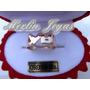 Anillo Doble Inicial Oro 18k -6 Gramos- Todas Las Iniciales