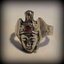 Anillos Grandes De Bronce Modelo Egipcio Nefertiti