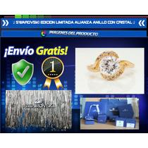 Anillo Alianza Swarovski Edicion Limitada Oro 18k Diamantes