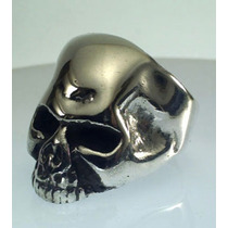 Espectacular Anillo Calavera De Plata El De Keith Richards!!