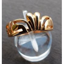 Anillo Coronita Calada Oro 14 K Gold Filled Americano