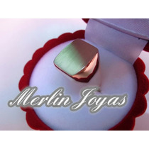 Anillo Sello Exclusivo De Oro 18k - 12 Gramos - M. J. -
