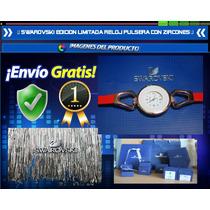 Swarovski Edicion Limitada Reloj Pulsera Con Zircones