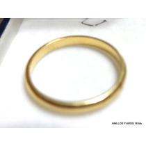 Anillo Oro 18k Liso Excelente Garantizado 2.5g Super Oferta