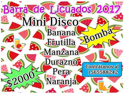 Animaciones Infantiles Mini Disco Zona Sur Barra Licuados