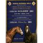 Haras Fazenda Bela Leilao Golden 2001 Catalogo
