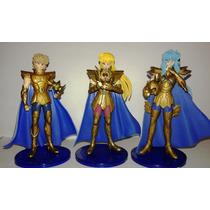Saint Seiya Caballeros Del Zodiaco Figuras Con Base