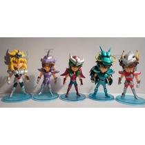 Caballeros Del Zodiaco Saint Seiya Set X 5 Figuras 12 Cm