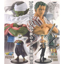 Dragonball Z X One Piece Roronoa Zoro Pvc Figura Nueva