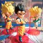 Dragon Ball Z - Set X 6 Figuras 8 Cm Goku Gotenks Gohan Buu