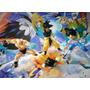 Dragon Ball Z - Set X 4 - Goku Vegeta Gohan Nappa 14 Cm.