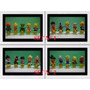Muñecos Dragon Ball Z- Esferas Del Dragon- Set X 10 Unidades