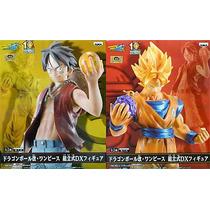 Dragon Ball One Piece Luffy Goku (originales) - Banpresto