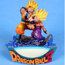 Dragon Ball Z Figura Goku Gohan Batalla Vs Cell Excelente