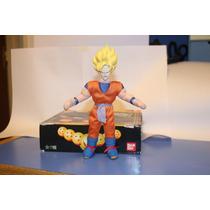 Dragon Ball Goku Ss Muñeco De Tela Original Bandai Dbztoys