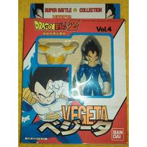 Vegeta Vol 4 Super Battle Collection Bandai Unico Como Nuevo