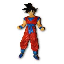 Dragon Ball Z Personaje Goku Con Base Pvc